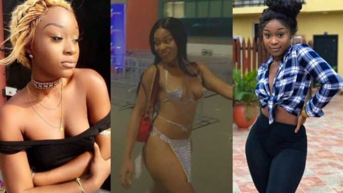Help your wife to get her sexy back - Actress Efia Odo urges married men who have sexy side chicks