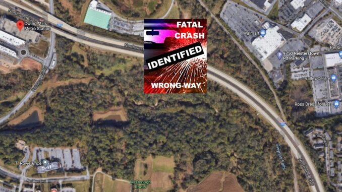 MD Woman Rodsheta Myers ID'd As Victim In Tuesday Owings Mills Wrong-Way Crash